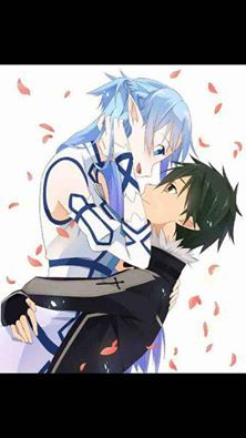 Asuna & Kirito - By Sword Art Online Kirito and Asuna ღ