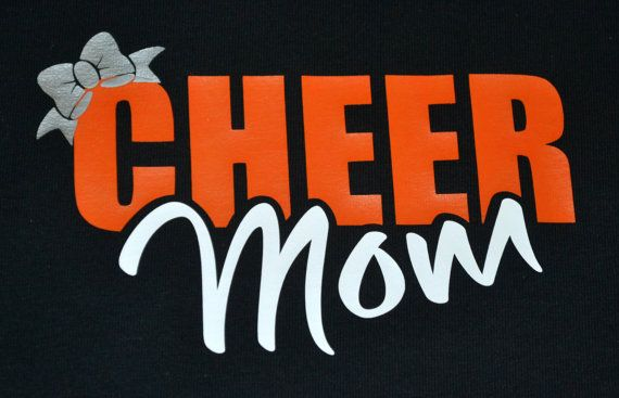 Cheer Mom shirt by Bows2ToesGear on Etsy
