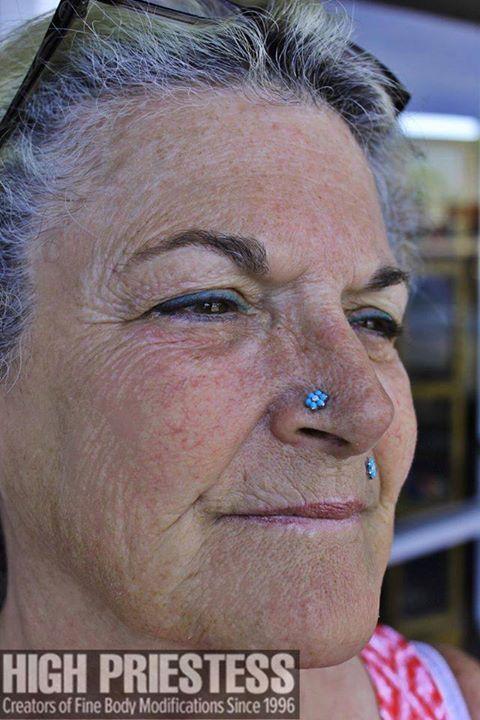 Mature piercing