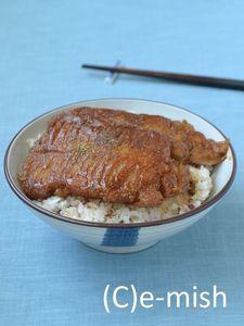 【フェイクレシピ】うなぎもどき丼