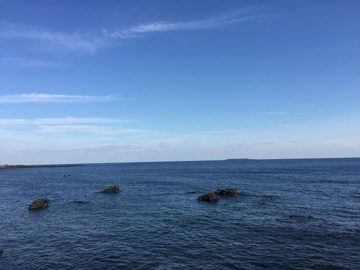 #sky #sea #jeju_korea #jeju