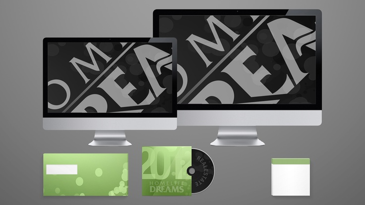 Homelife Dreams Brokerage - Stationery Design #2