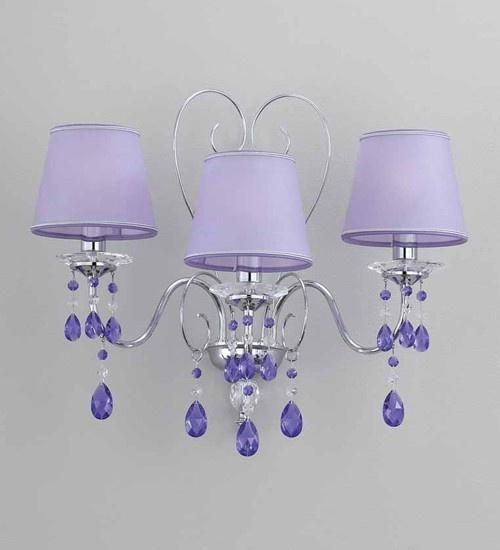 Swarovski Crystal wall lamp OR/610/A3.CR.SW.VI