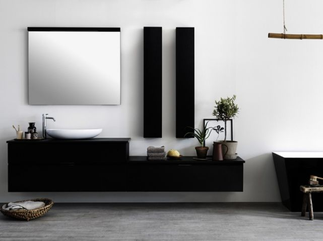 59 best salle de bains images on Pinterest Bathroom, Bathrooms and