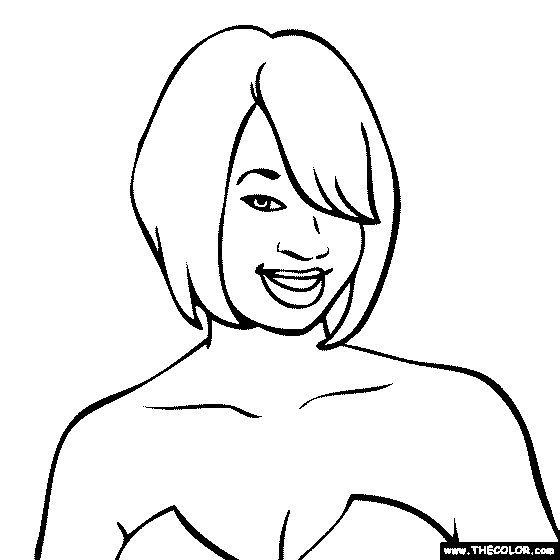 kesha coloring page monique coleman