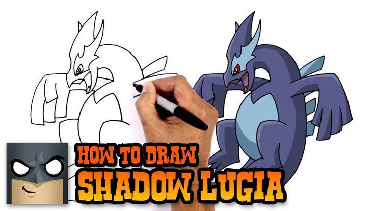 How to Draw Shadow Lugia | Pokemon