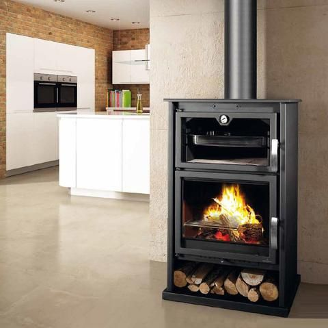 Bronpi Suiza Wood Burning Stove With Oven | 10kW