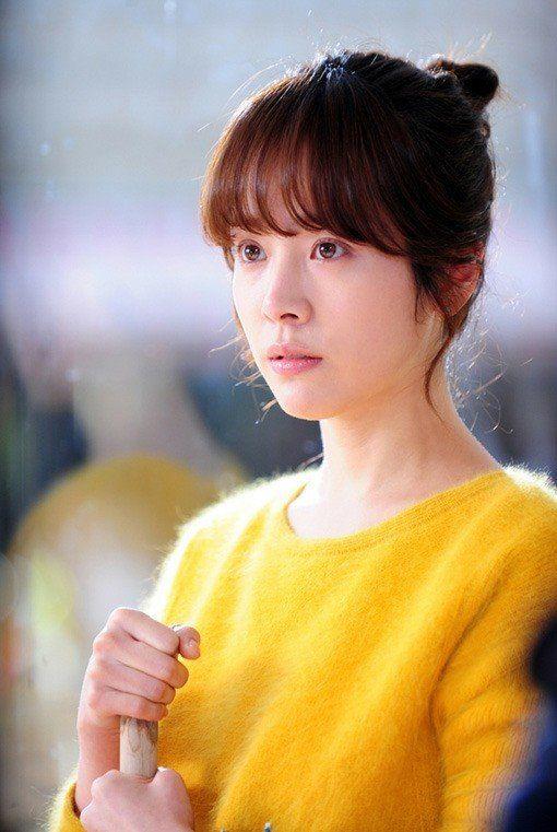 Jimin Han- cute yellow sweater    #한지민