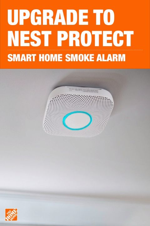 Know more, worry less. The Nest Protect looks for fast burning fires, slow, smoldering fires and invisible carbon monoxide. It speaks up to tell you what the problem is and where it is. It can also give you a friendly Heads-Up before it has to sound the alarm and you can hush it with your phone. In case you're not home, Nest Protect alerts your phone when the alarm goes off or the batteries run low. Click to shop Nest Protect at The Home Depot.