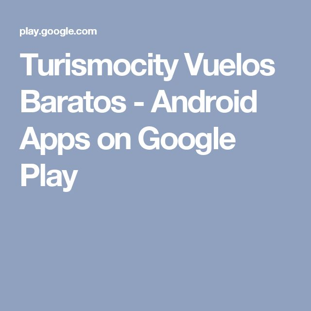 Turismocity Vuelos Baratos - Android Apps on Google Play