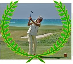 """Maria Cristina Romanin  161 punti Stableford  2° Class. WebGolf Contest 2011  Settembre – Ottobre 2011  Franciacorta Golf Club  12,5 (HCP alla vittoria)    """"Il gioco più esaltante e umiliante nello stesso giorno.""""  Maria"""