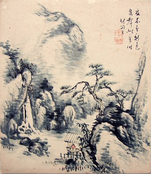 The basis of the Japanese painting of Tokugava era is formed by Chinese tradition later enriched with Japanese and European artistic methods. During the period of Chinese school domination, the Kano school was the foremost trend of painting.