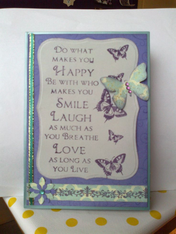 Kaszazz Happy Butterflies stamp and paper punches.