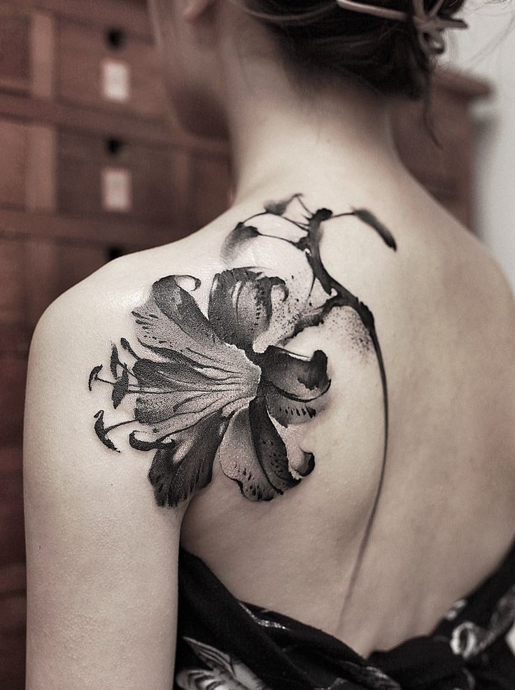 tattoos chinese ink painting instagram:newtattoo陈洁