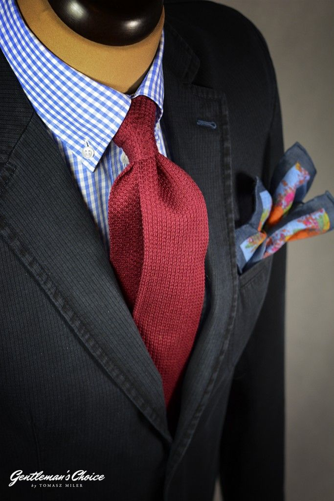 Jak nosić krawat?  Mens Fashion   Menswear   Men's Apparel  Men's Outfit   Sophisticated Style   Moda Masculina   Mens Shirt   Elegant How to wear a tie?