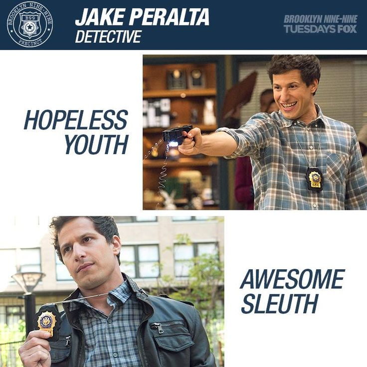Andy Samberg as Det. Jake Peralta
