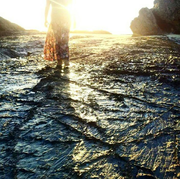 Currumbin Rock sunrise ~ Angels_Unisex_Jewellery