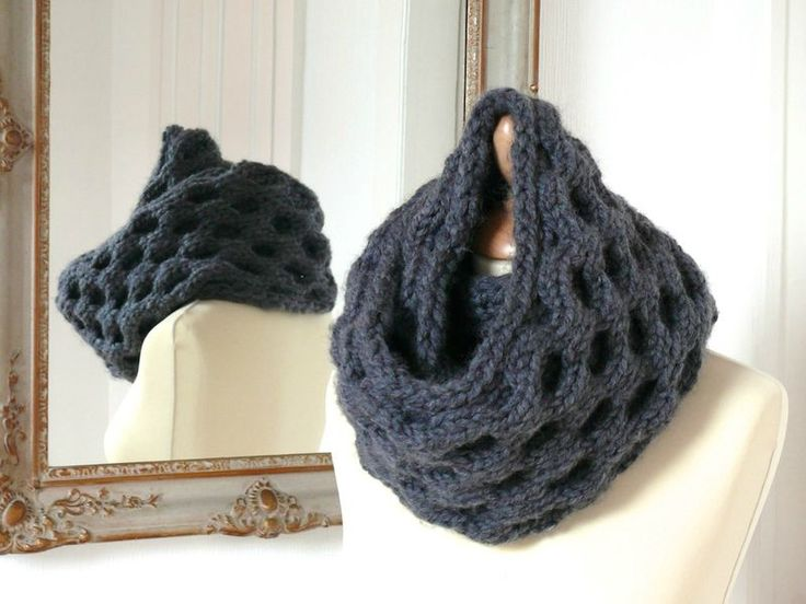 Snood Point d'alvéole - Bee made                                                                                                                                                                                 Plus