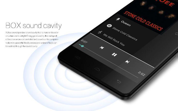 Doogee X5 5 hüvelykes Android 5.1 MTK6580 Négymagos okostelefon