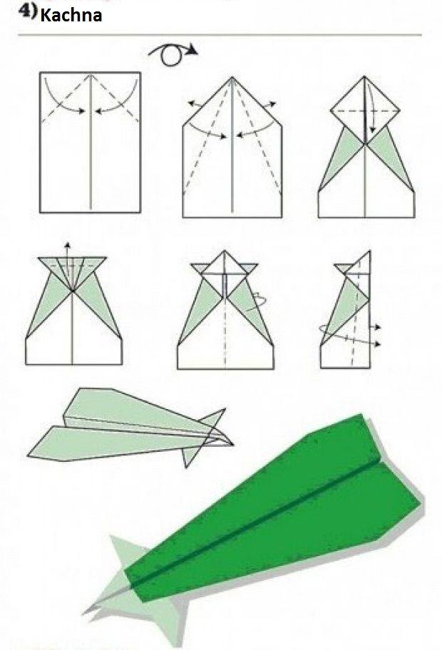 Vlaštovka z papíru - Kachna