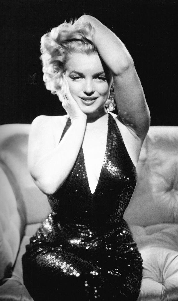 Marilyn Monroe- Don't forget Babby, men always prefer curvy women ! Love your curves...