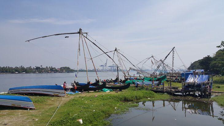 A história portuguesa em Fort Cochim, Kerala, Índia | Viaje Comigo
