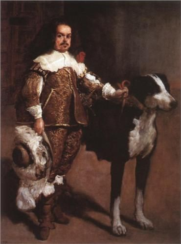 A Buffoon (incorrectly called Antonio The Englishman) - Diego Velazquez.  Art Experience NYC  www.artexperiencenyc.com/social_login/?utm_source=pinterest_medium=pins_content=pinterest_pins_campaign=pinterest_initial