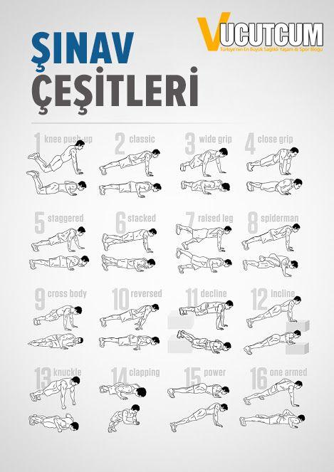 #Şınav vücut geliştirme veya diğer sportif aktivilerde çok önemli yere sahip olan ve vücudunu birçok yerini çalıştıran temel bir egzersizdir. #push-up #workout #fitness #bodybuilding