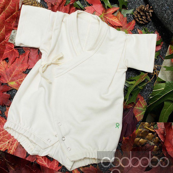 Introducing our very first #madeInCanada #cutAndSew baby kimono romper!  Made from #gotsCertifiedOrganicCotton #organicFrenchTerry. Makes a lovely #babyShowerGift and for #mommies who need their #momAndBabyYoga time!  Easy nickel free snaps at the bottom for easy access when changing diapers. Heavier weight fabric for #winter weather! #babylove #supercute #babyapparel #sustainablefashion #ecoluxury #organicbabyclothes http://www.ogobobo.com