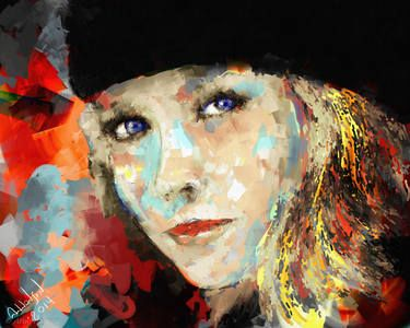 "Saatchi Art Artist Arne Hansen; New Media, ""Lara"" #art"