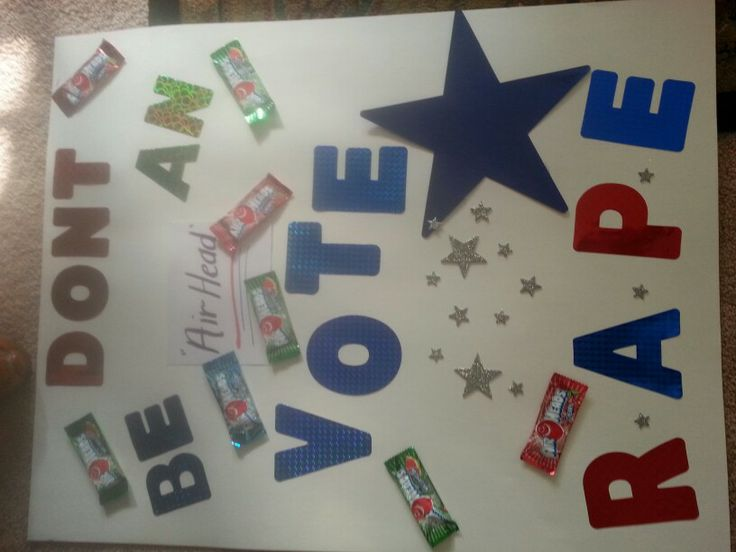 student body election handout ideas just b cause