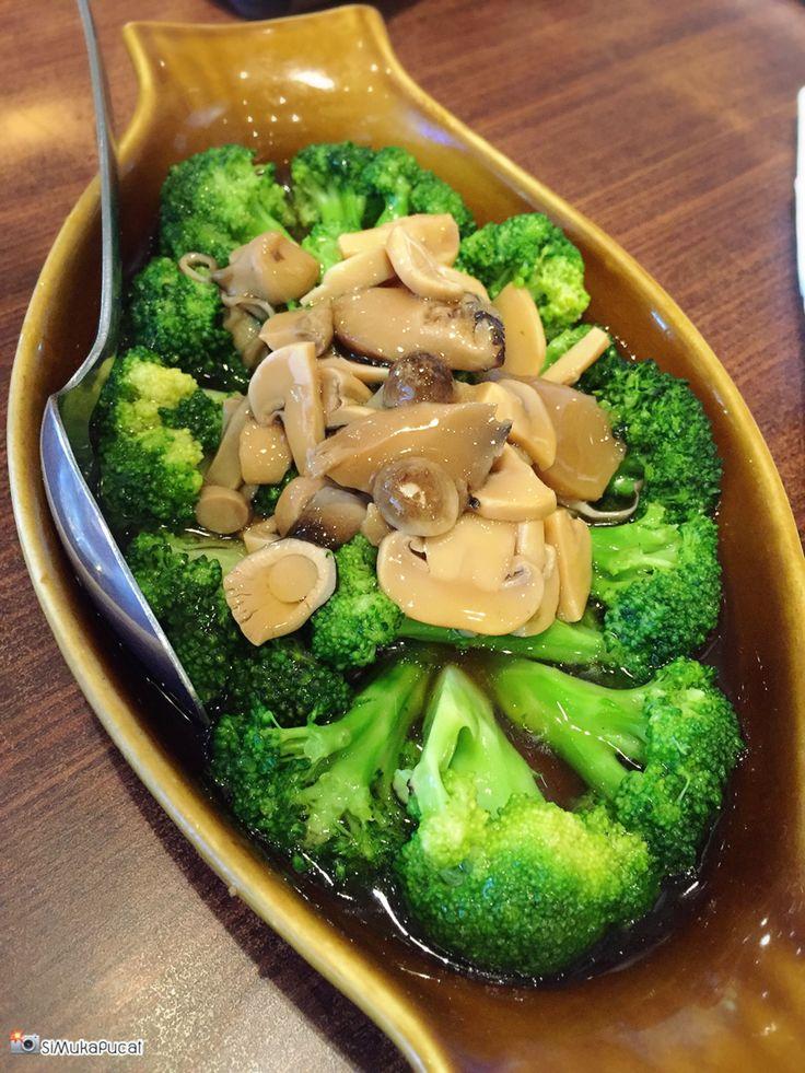 Brokoli saus tiram