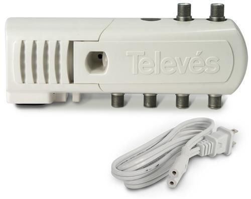 Antennas and Dishes: Televes Tv Antenna Distribution Amp 5-Port With Lte Filtering (552380) -> BUY IT NOW ONLY: $31.99 on eBay!