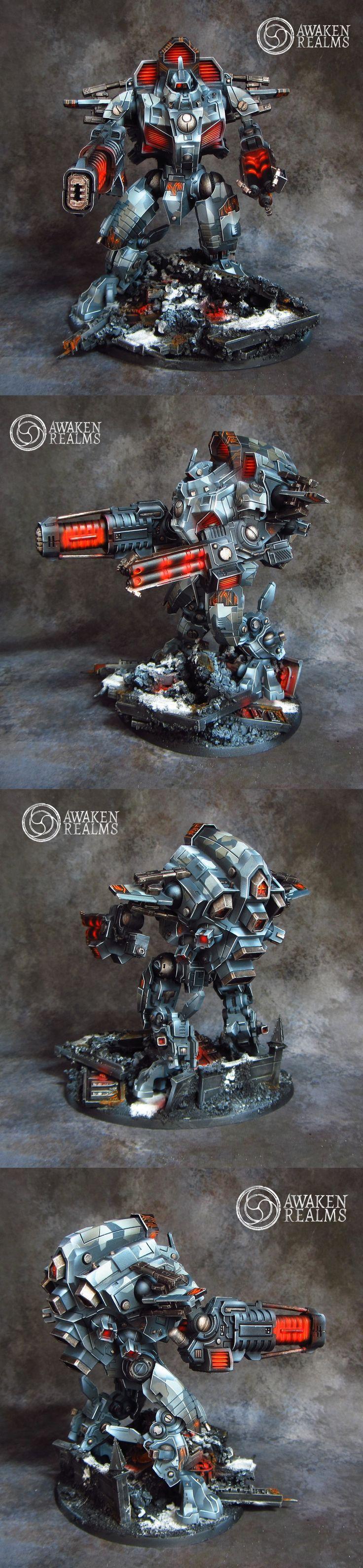 High-tech Tau Army by Awaken Realms