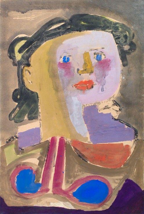 Jankel Adler - Girl