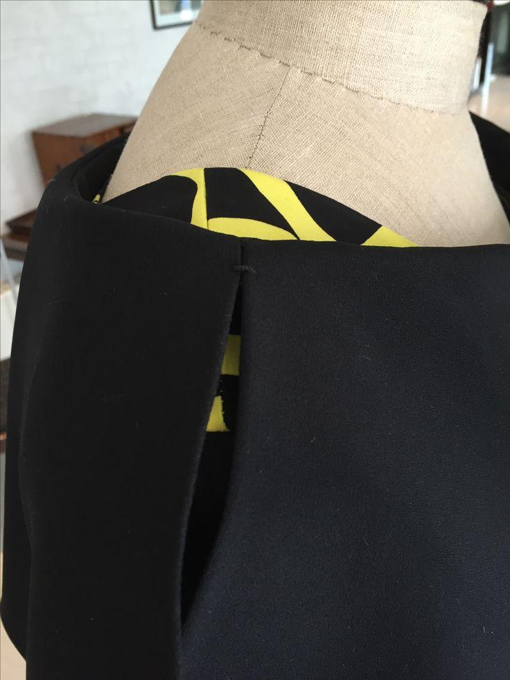 Reliefbyjunker.dk Long silk dress, details.