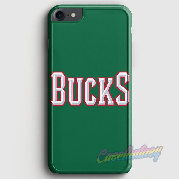 Nba Dc Bucks Logo Head iPhone 7 Case | casefantasy