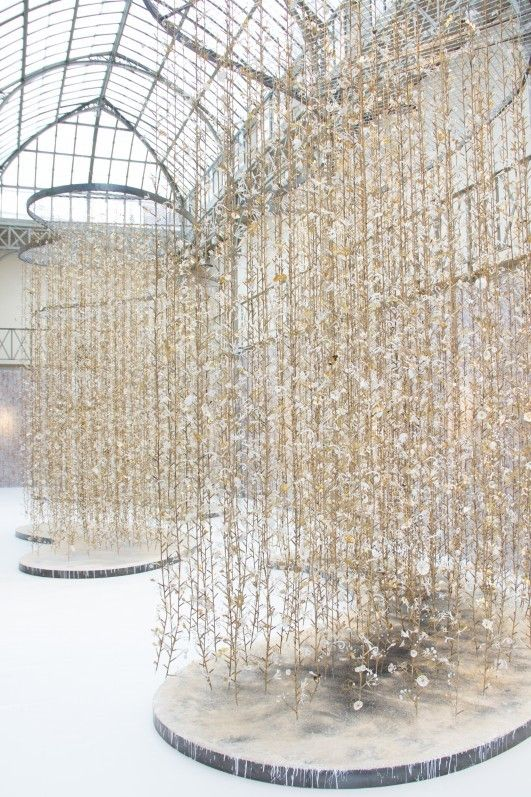17 best images about scenography installation on for Jardin suspendu