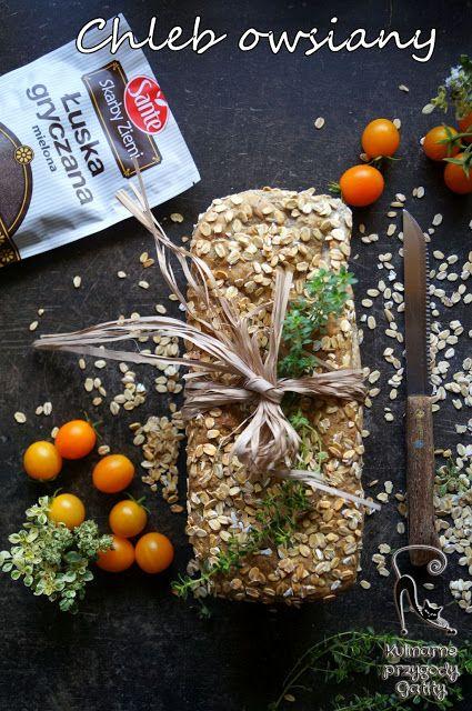 Kulinarne przygody Gatity: Chleb owsiany z łuską gryczaną