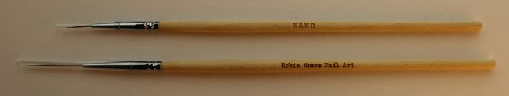Set of Both Robin Moses Nail Art Brushes