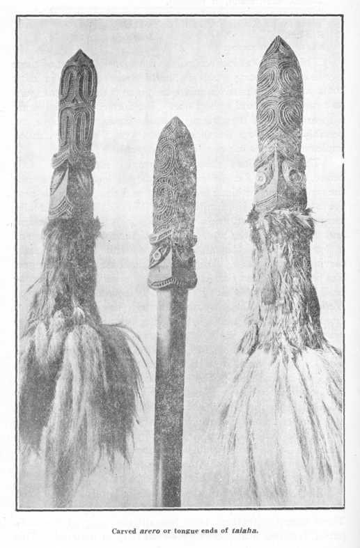 whakairo arero o te taiaha