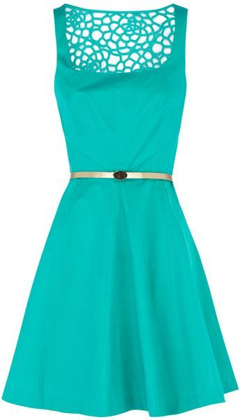 OUT OF STOCK - Florence Skater Dress - Lyst I love this color and design!!!