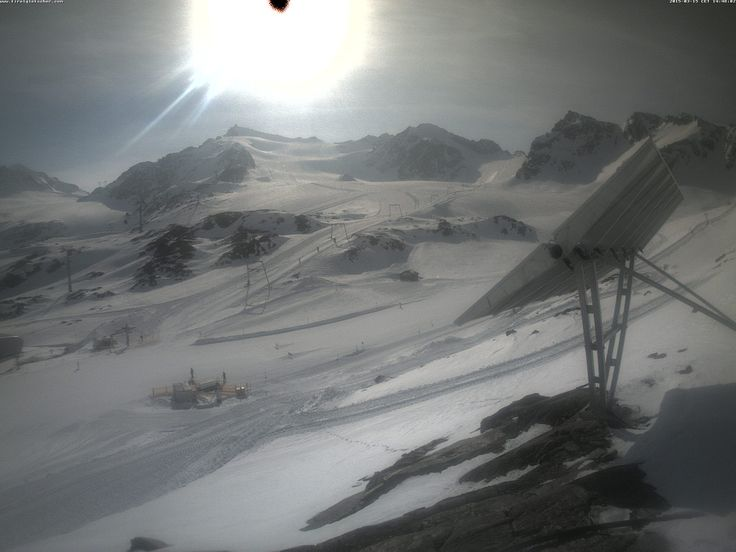 Rifflsee webcam Bergstation Pitzexpress 2840 m Skiweather.eu