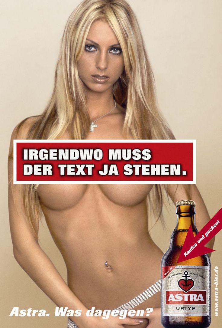 Astra Bier - Werbung