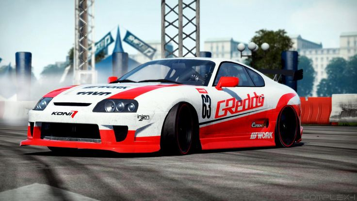 Toyota Supra Wallpaper Drifting