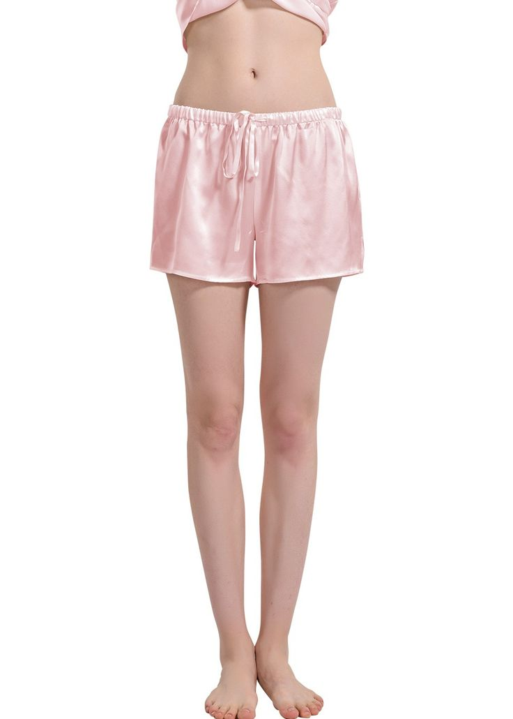 100% pure mulberry silk womens pj shorts bottoms for all feminine curves, ladies silk sleep shorts for elegant and breathable nightwear!