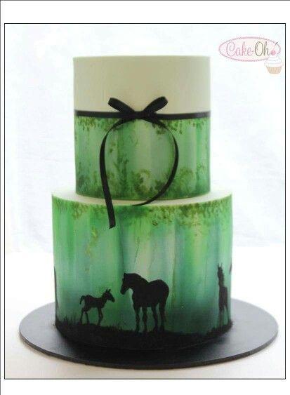 1522 Best Farm Western Horse Cakes Images On Pinterest