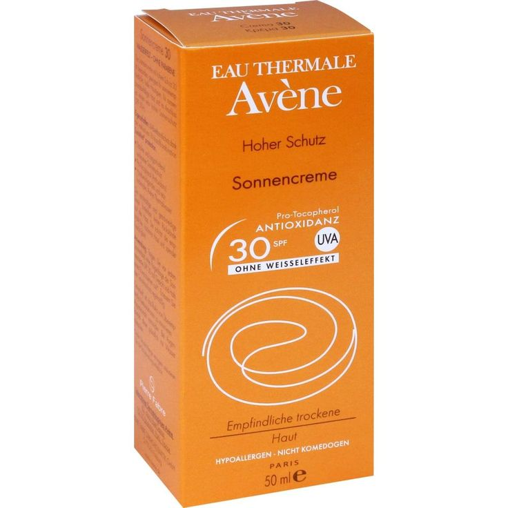 AVENE SunSitive Sonnencreme SPF 30:   Packungsinhalt: 50 ml Creme PZN: 05874732 Hersteller: PIERRE FABRE DERMO KOSMETIK GmbH Preis: 11,50…