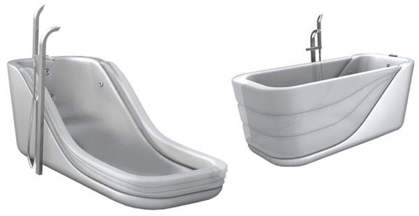 The Clever Bathtub - My Favourite Idea.