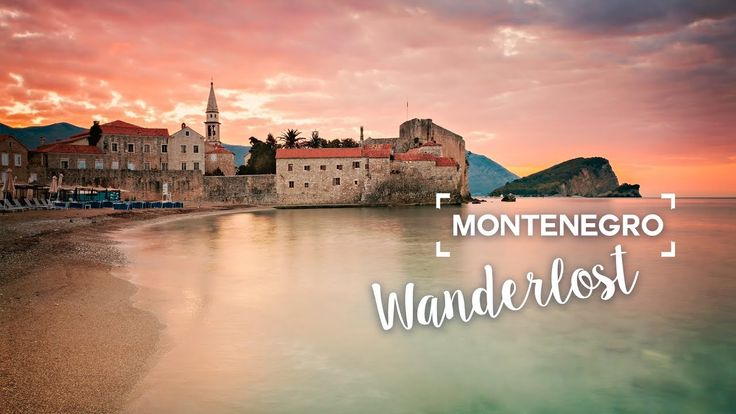 Beautiful Montenegro in time lapse